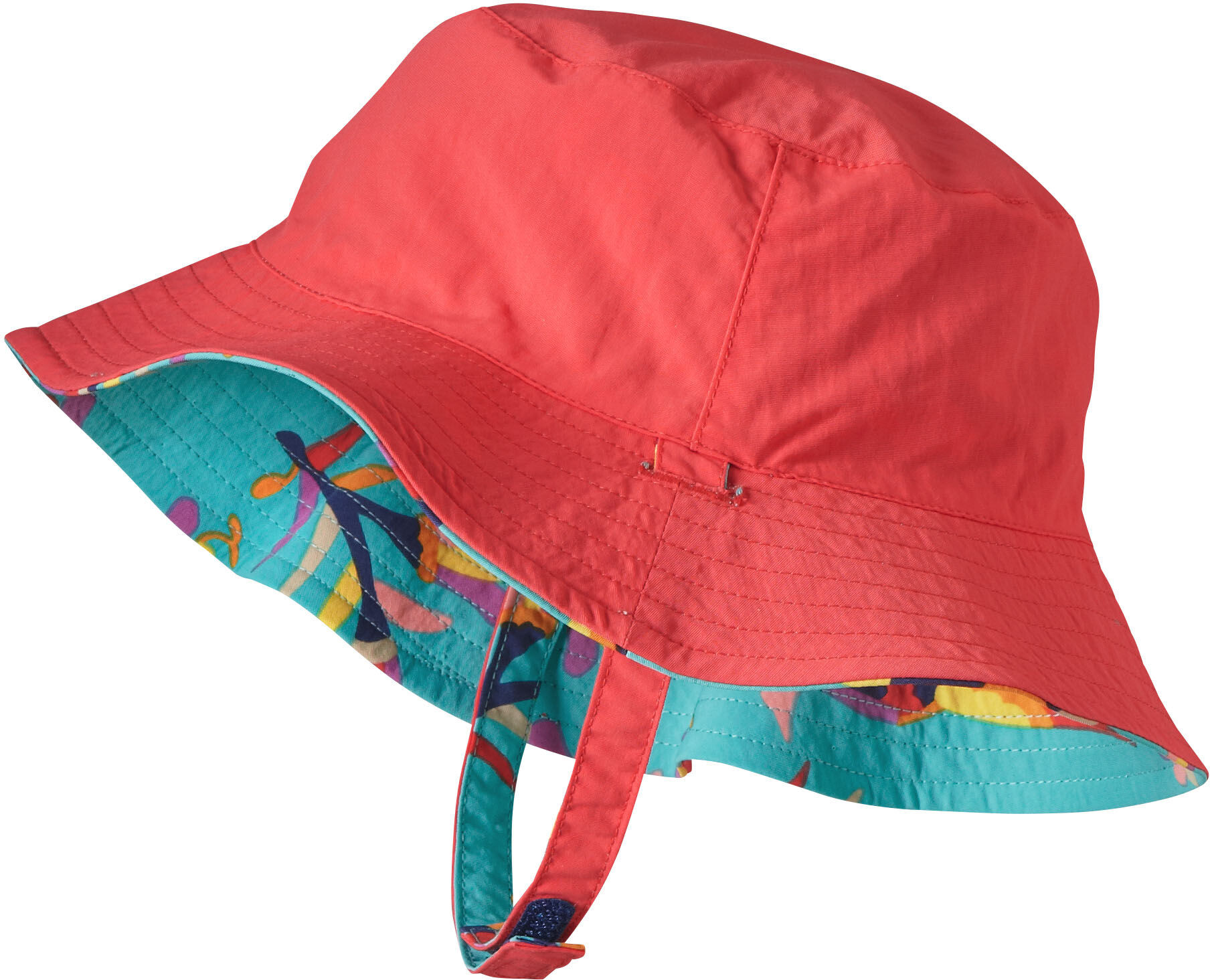 Patagonia Sun Bucket Hat Baby Folk Tails Howling